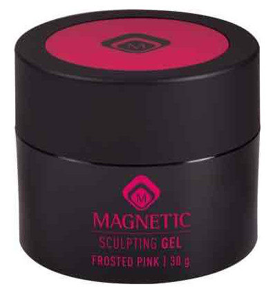 MAGNETIC SCULPTING FROSTED PINK GEL