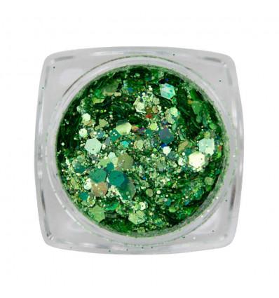 Metal Inlay Green